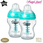 Tommee Tippee CTN Adcanved Anti-Colic Plus Bottle Twin - 260ml/9oz