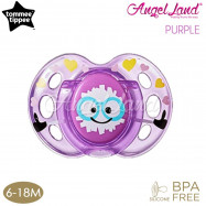 image of Tommee Tippee Closer to Nature Air Style Soother - 1pk (433375/38 / 433377/38) Purple - 433377/38 (6-18m)