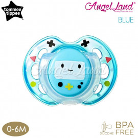 image of Tommee Tippee Closer to Nature Air Style Soother - 1pk (433375/38 / 433377/38) Blue - 433375/38 (0-6m)