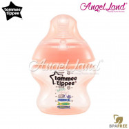 image of Tommee Tippee Closer to Nature Tinted Bottle 150ml (5oz) Peach