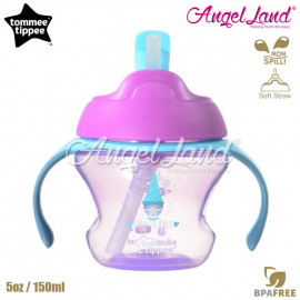 image of Tommee Tippee First Straw Cup 5oz/150ml (9m+) Pink