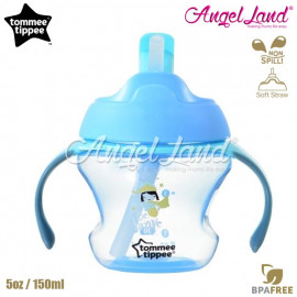 image of Tommee Tippee First Straw Cup 5oz/150ml (9m+) Blue