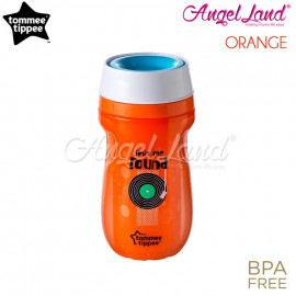 image of Tommee Tipple Insulated 360 Cup 260ml (9m+) Orange