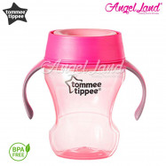 image of Tommee tippee meal time trainer cup 230ml (9m+) Pink