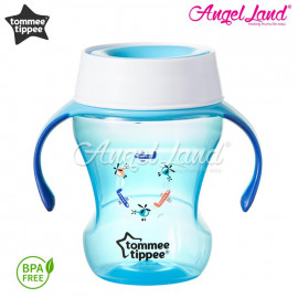 image of Tommee tippee meal time trainer cup 230ml (9m+) Blue