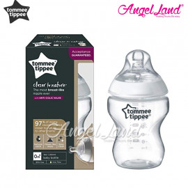 image of Tommee Tippee Closer To Nature PPSU Bottle - 260ml Single