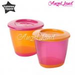 Tommee Tippee Explora 2 Pop Up Weaning Pot 4m+ - 446502/38 orange/pink