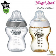 image of Tommee Tippee CTN Tinted Bottle 260ml/9oz - Silver + Gold