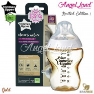 image of Tommee Tippee CTN Tinted Bottle 260ml/9oz - Gold