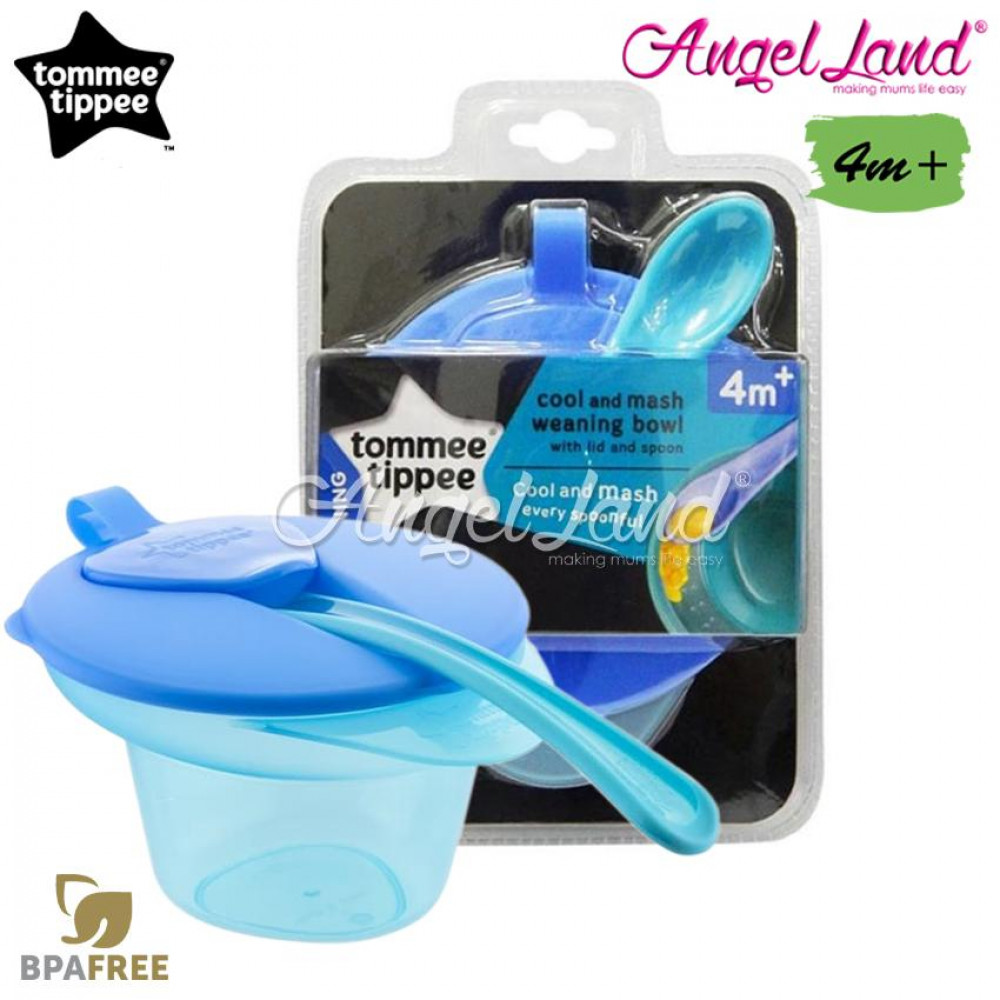 Tommee Tippee Explora Cool And Mash 4m+ - 446702/38 - Blue