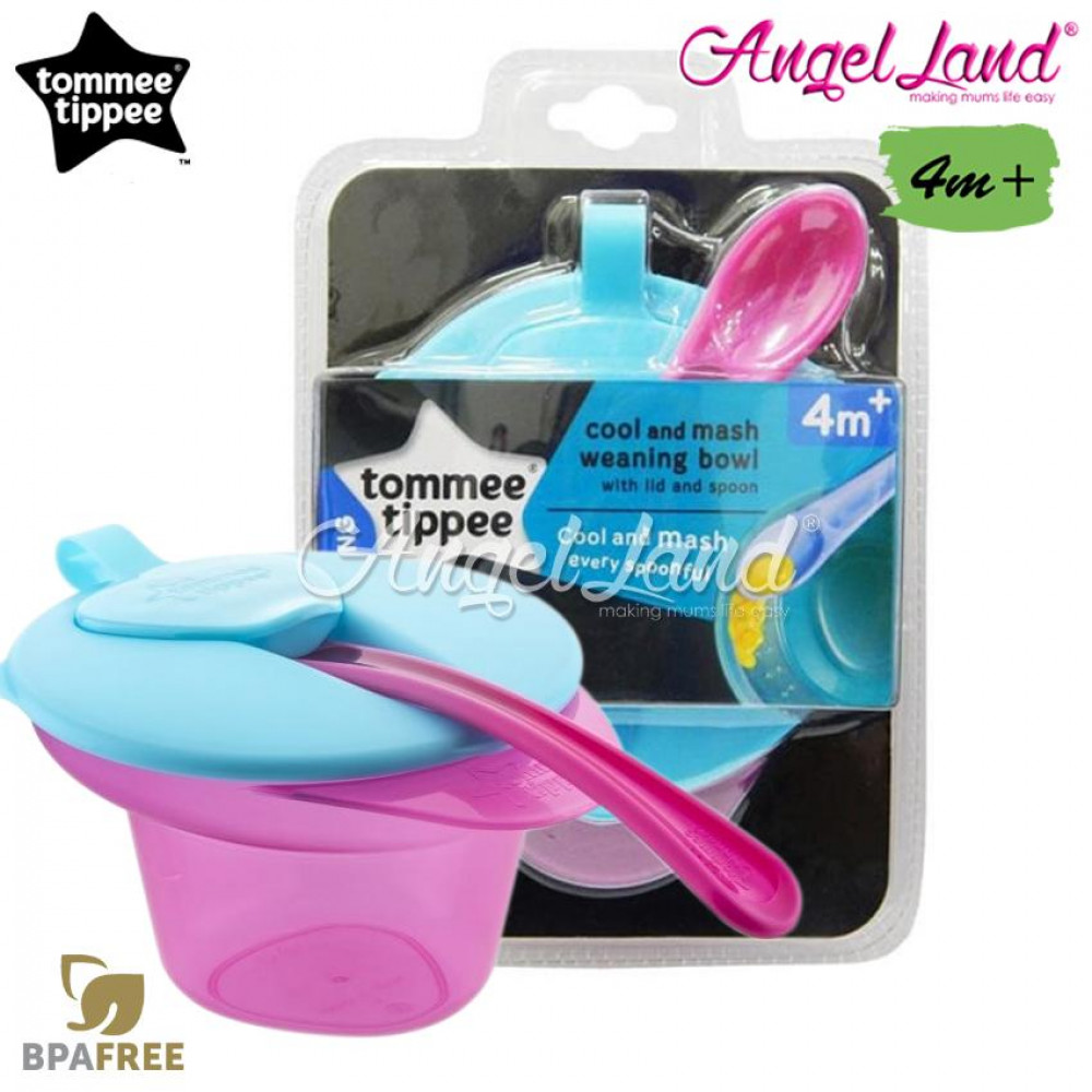 Tommee Tippee Explora Cool And Mash 4m+ - 446702/38 - Pink