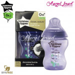 Tommee Tippee Closer To Nature Tinted Bottle 260ML/9oz Single Pack - Purplish 422579/38