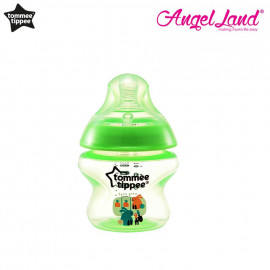 image of Tommee Tippee Closer to Nature Tinted Bottle 150ml (5oz) - Lime Green