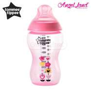 image of Tommee Tippee Closer to Nature Tinted Bottle 340ML/12OZ - pink