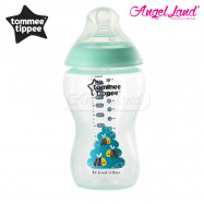 image of Tommee Tippee Closer to Nature Tinted Bottle 340ML/12OZ - Blue