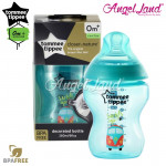 Tommee Tippee Closer To Nature Tinted Bottle 260ML/9oz Single Pack Jade Green-422578/38