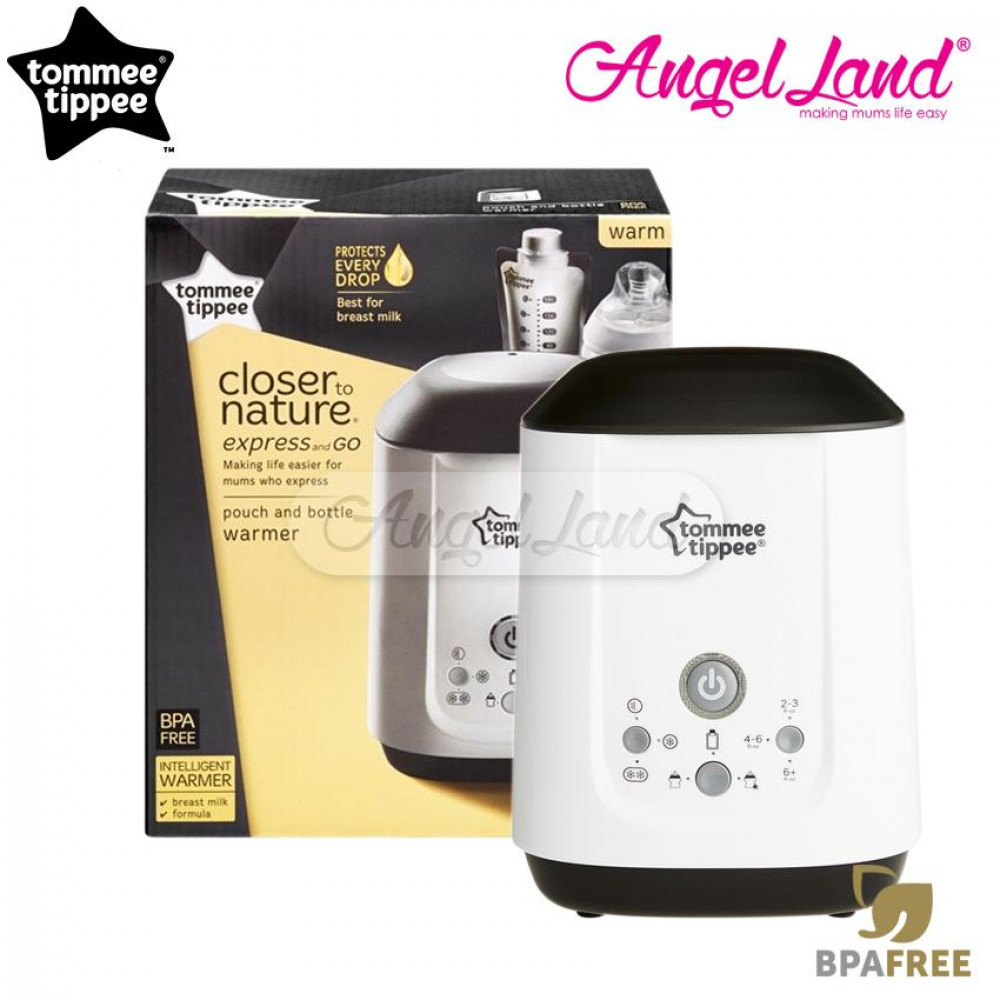 Tommee Tippee Closer To Nature Pouch & Bottle Warmer - 422147/38