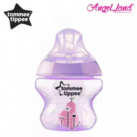 image of Tommee Tippee Closer to Nature Tinted Bottle 150ml (5oz) Purple