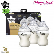 image of Tommee Tippee Closer to Nature Bottle 260ml/9oz Triple Pack-422530/38