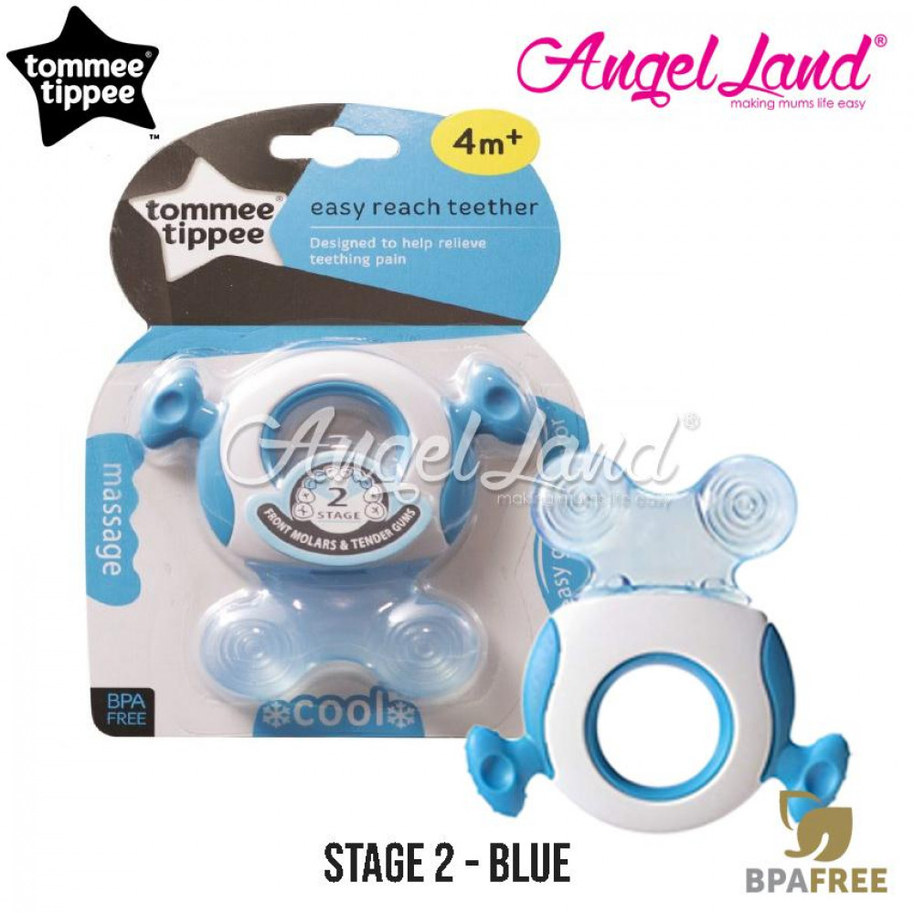 Tommee Tippee CTN Triple Action Stage 2 Teether - 426452/38