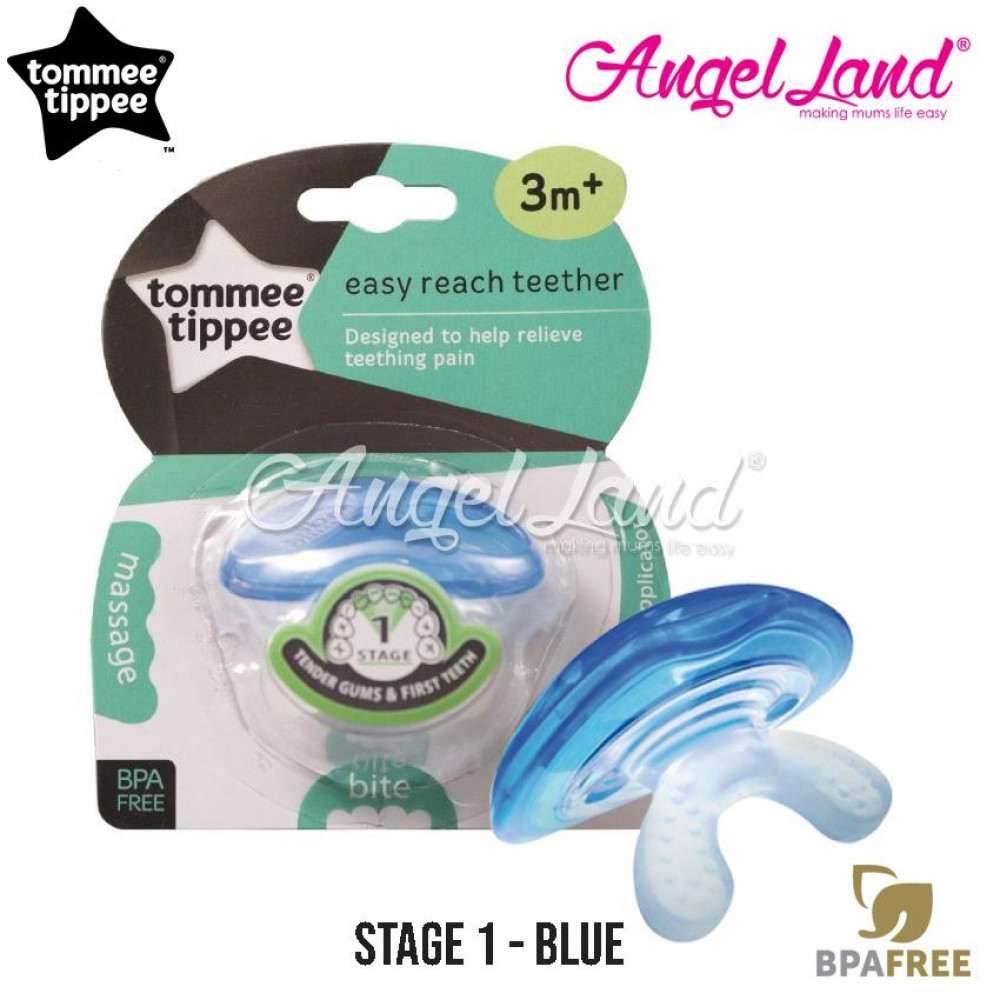 Tommee Tippee CTN Triple Action Stage 1 Teether 436450/38