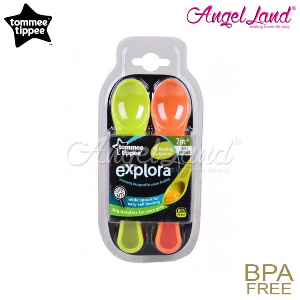 Tommee Tippee Explora Feeding Spoon 7m+ - 446604/38 (Pack of 2)