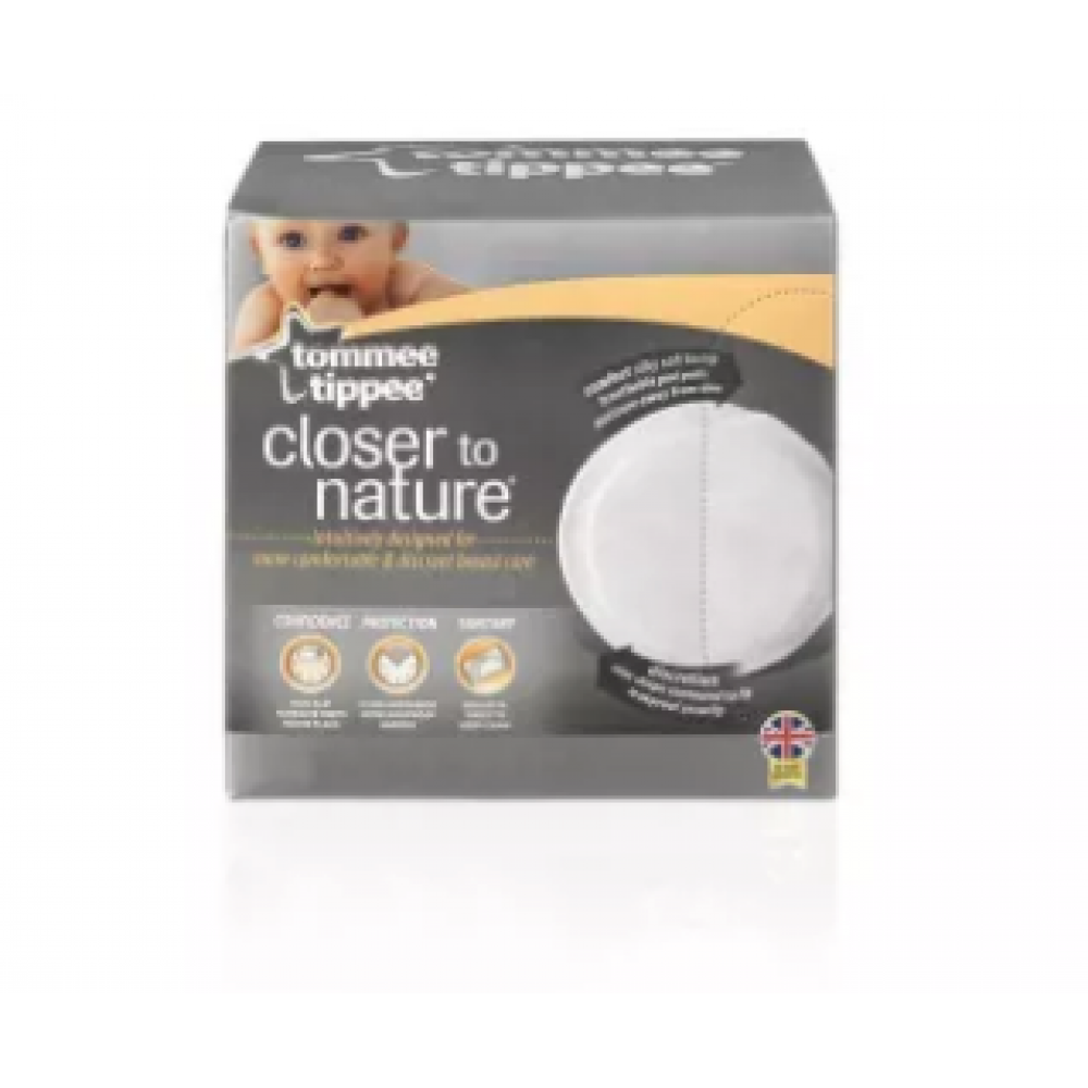 Tommee Tippee Closer To Nature Disposable Breast Pad 100pcs 431215/38x1