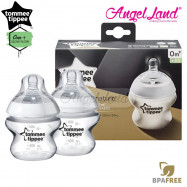 image of Tommee Tippee Closer To Nature PP Bottle 150ml / 5oz Twin Pack 422100/38