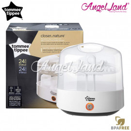 image of Tommee Tippee Closer To Nature Electronic Steam Sterilizer Kit  431205/38