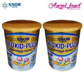 image of Snow Neo Kid-Plus Milk Formula Step 3 For 1-3 Years (900g x 2)
