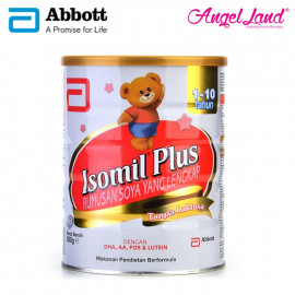 image of Abbott Isomil Plus Rumusan Soya (1-10years) 850g