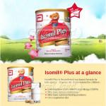 Abbott Isomil Plus Rumusan Soya (1-10years) 850g