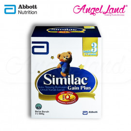 image of Abbott Similac Gain Plus NVE Step 3 (1-3 Yrs) BIB (1.8kg)