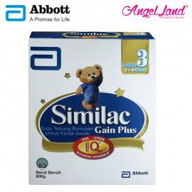 image of Abbott Similac Gain Plus NVE Step 3 (1-3 Yrs) BIB (600g)