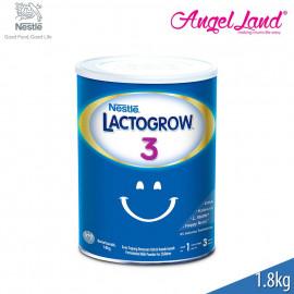 image of Lactogrow® 3 Milk (1-3 Years) 1.8kg 2 tins