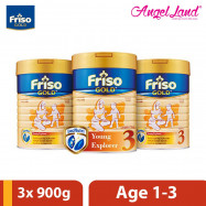 image of Friso Gold Step 3 900g (3 Tins)