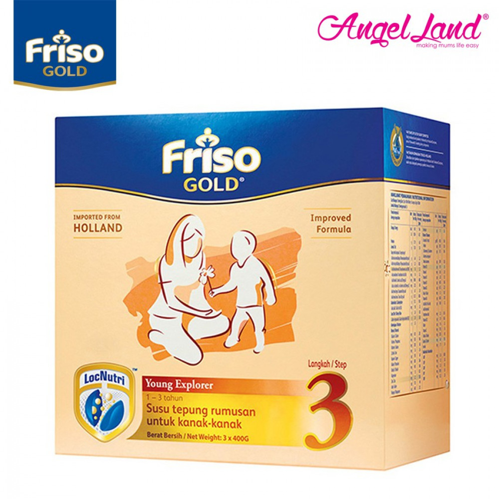 Friso Gold Young Explorer Step 3 Milk Powder (1+years) 1.2kg