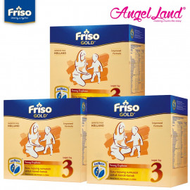 image of Friso Gold Young Explorer Step 3 Milk Powder (1+years) 400gx3 (3 packs)