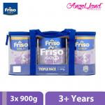Friso Gold Bright Star Milk Powder Step 4 (3+ years) 900g x 3 tins