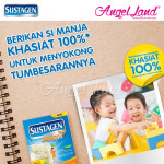 Sustagen School 6+ Milk Powder (6 Years+) 1.2kg X2 [FOC Stainless Steel Bottle]