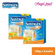 image of Sustagen Junior1+ Milk Powder (1-3years) 1.2kg x2 [FOC Stainless Steel Bottle]