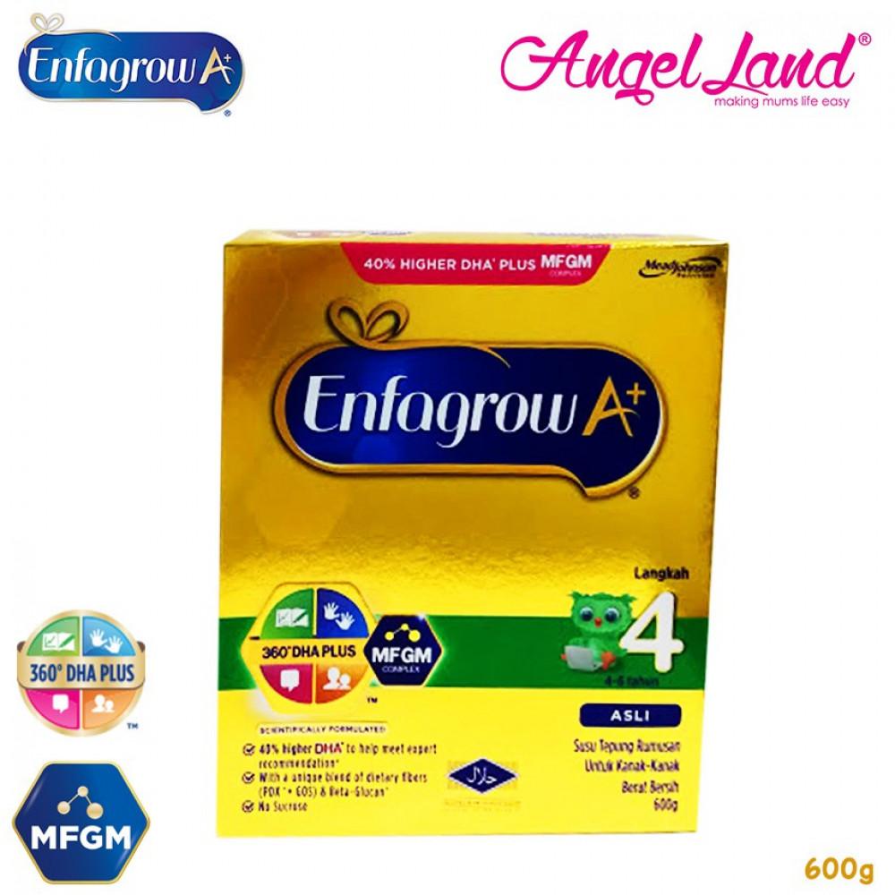 Enfagrow A+ Step 4 Milk (4-6years) [360°DHA+MFGM] 600g
