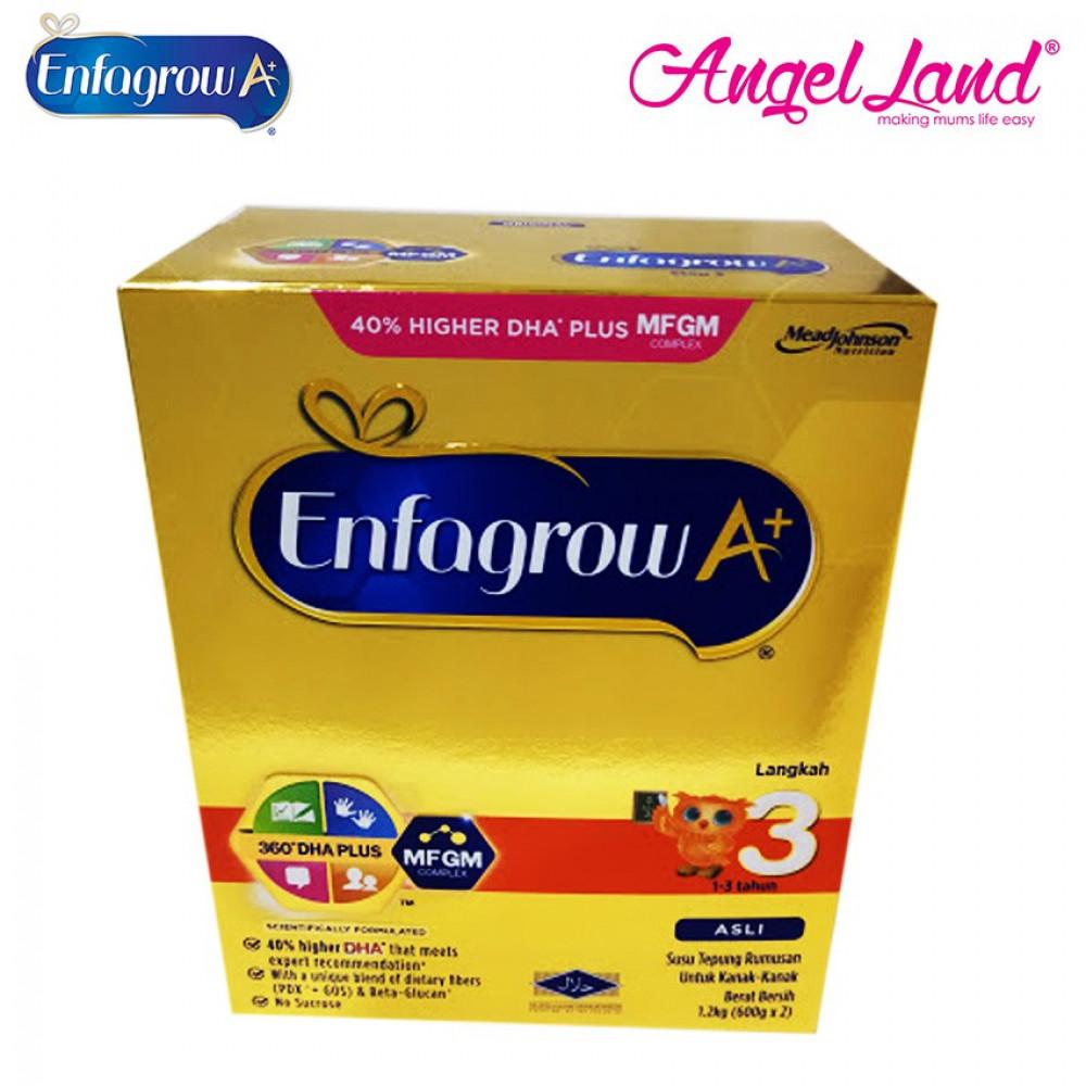 Enfagrow A+ Step 3 Milk - 1.2kg (1-3 Years)