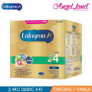 image of Enfagrow A+ Step 4 (4-6years) MFGM Milk 2.4kg Original/Vanilla