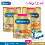 Enfagrow A+ Step 3 Milk (1-3years) 1.7kg X3 [FOC Kid Scooter Random Color]