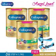 image of Enfagrow A+ Step 4 Milk (4-6years) 1.7kg X3 [FOC Kid Scooter Random Color]