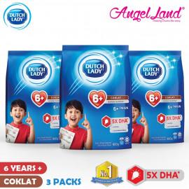 image of Dutch Lady New Range Milk Powder - 1-3/4-6/6+ (900g x 3 Packs)