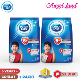 image of Dutch Lady New Range Milk Powder (900g x 2 Packs)