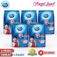 image of Dutch Lady New Range Milk Powder-1-3/4-6/6+ (900g x 5 Packs)