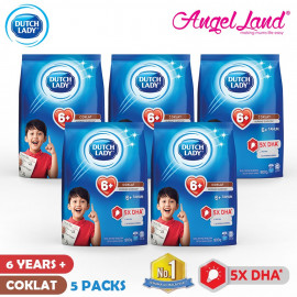 image of Dutch Lady New Range Milk Powder-1-3/4-6/6+ (900g x 5 Packs)